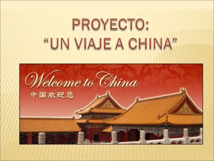 Presentación sobre las costumbres de China y otros aspectos importantes para que aprendan los más pequeños.