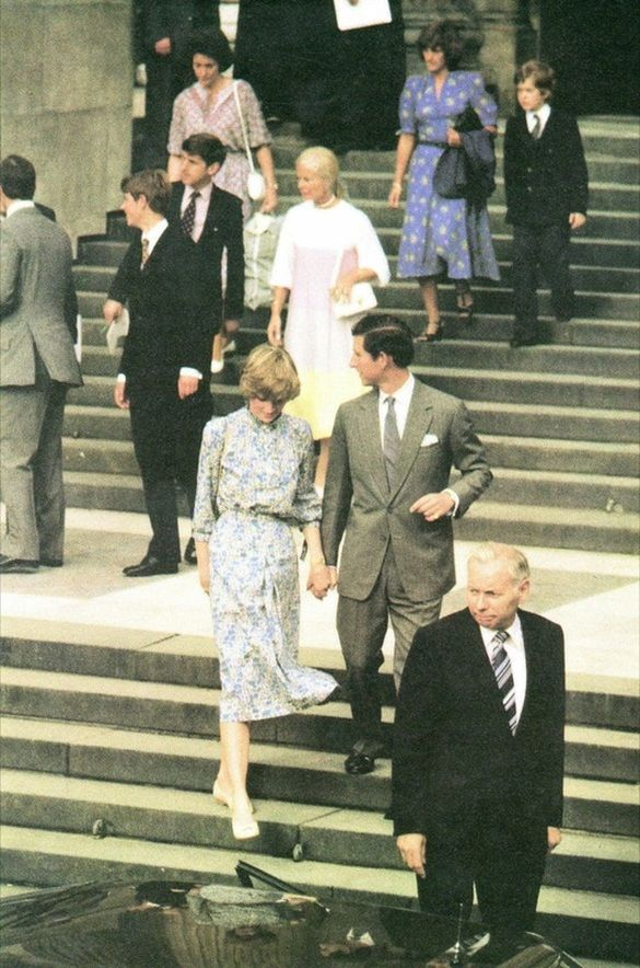 On Monday July 27th 1981, Prince Charles and Lady Diana