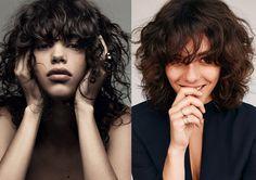 Não tenha medo de texturizar o cabelo. Agora até as franjas estão na moda das ondas bagunçadas. Aprenda com a nova safra de modelos como aderir ao vis...