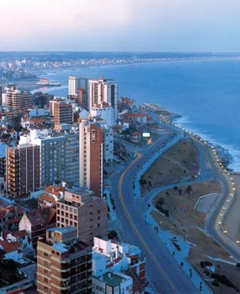 "The City of Mar del Plata is known as ""the Happy City"" Argentina"