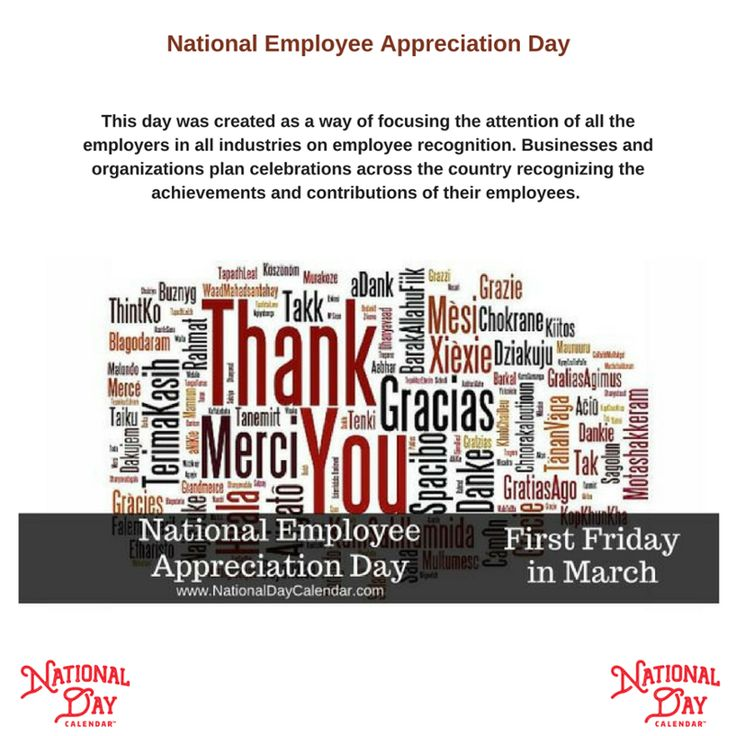 Hey everyone! Today is National Employee Appreciation Day! Remember to celebrate and show appreciation to all your employees for all they do everyday.    http://qoo.ly/mppwa