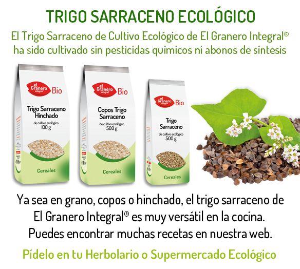 Un artículo de: Arantza Muñoz   Dietista y cocinera veganaEl trigo sarraceno, también llamado trigo negro o alforfón, no es un cereal, en contra de lo que todo el mundo piensa. Por su contenido en almidón (hidratos de carbono complejos), se le denomina pseudo-cereal, como ya ocurre con la quinoa