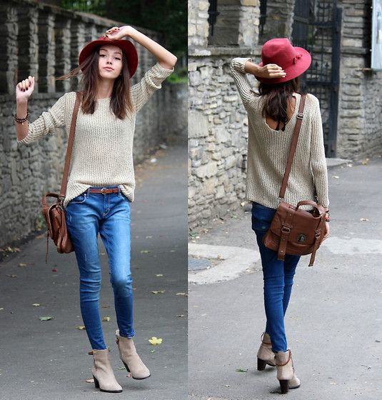 Bi Beatrice, Denim Jeans, Mulberry Bags, Fashion Style, Collection Fashion, Red Hats, Fruit Bi, Forests Fruit, Blue Denim
