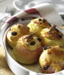 Bratapfel mit Marzipan