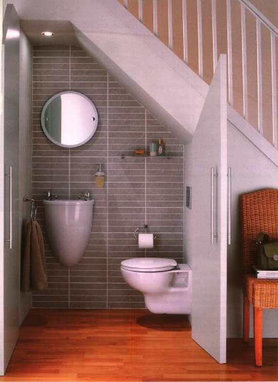 10 ideas para aprovechar el hueco de la escalera