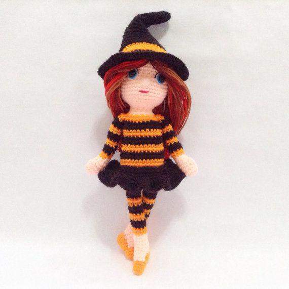 PATTERN  Halloween Ballerina  Crochet by LittleBambooHandmade