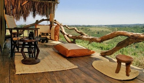 Tanzania Adventure: You'll stay in luxury tented camps, like the Crater Forest Camp in the Ngorongoro.