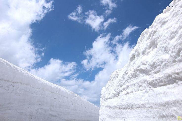 「撮影スポット 〜立山黒部アルペンルート 雪の大谷〜 #関西  #カメラ女子  #関西カメラ女子部  #立山 #黒部 #撮影スポット #アルペンルート #雪渓 #tateyama #kurobe #alpenrute #snowyvalley