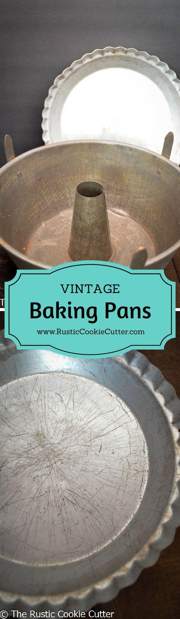 Repurposing a Vintage Angel Food Cake Pan & Pie Pan https://www.rusticcookiecutter.com/repurposing-vintage-baking-pan/?utm_campaign=coschedule&utm_source=pinterest&utm_medium=The%20Rustic%20Cookie%20Cutter&utm_content=Repurposing%20a%20Vintage%20Angel%20Food%20Cake%20Pan%20and%20Pie%20Pan