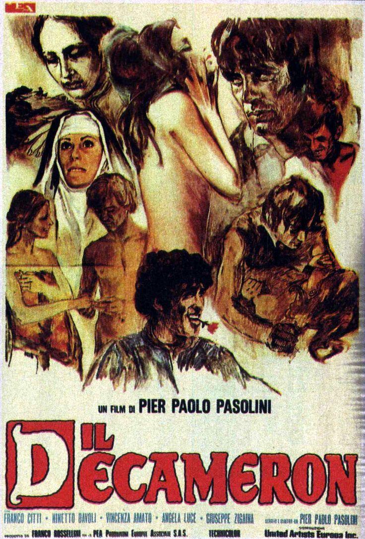 l Decameron è un film del 1971 scritto e diretto da Pier Paolo Pasolini, tratto dal Decameron di Giovanni Boccaccio.  Questo film ambientato a Napoli ebbe diversi problemi con la censura che sequestrò e dissequestrò il film, ed aprì anche un processo, che alla fine vide giudicati non colpevoli gli imputati (tra cui il regista stesso). In Germania e in gran parte dell'Europa invece il film ebbe notevole successo e vinse l'Orso d'argento al Festival del Cinema di Berlino.