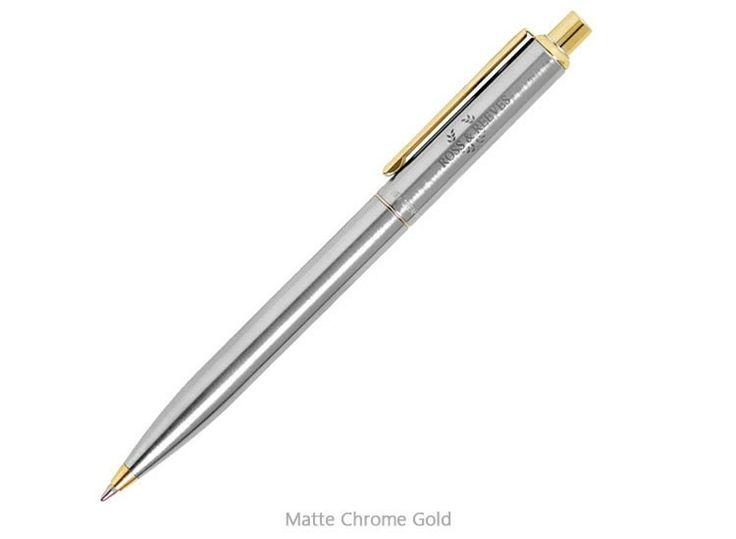 Sheaffer Sentinel Chrome / Gold - Ballpoint