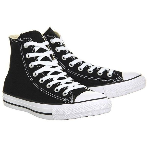 4935a97eeb1 All Star Hi Trainers by Converse Supplied by Office (€55) ❤ liked on Polyvore  featuring shoes