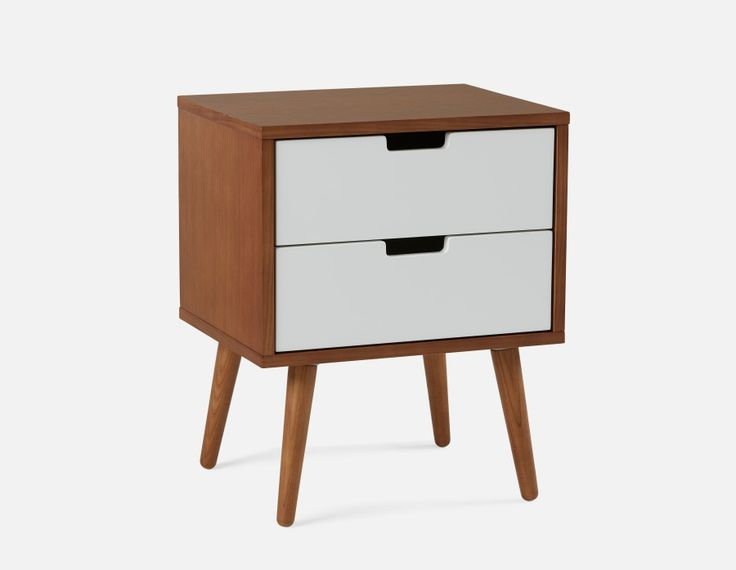 EMMA - Bedside Table - Teak