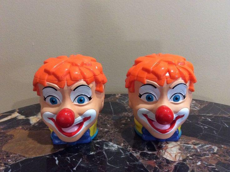 2 The Greatest Show On Earth Circus Clown Collectible Mug. Covered/Lidded Clown Mug. | eBay!