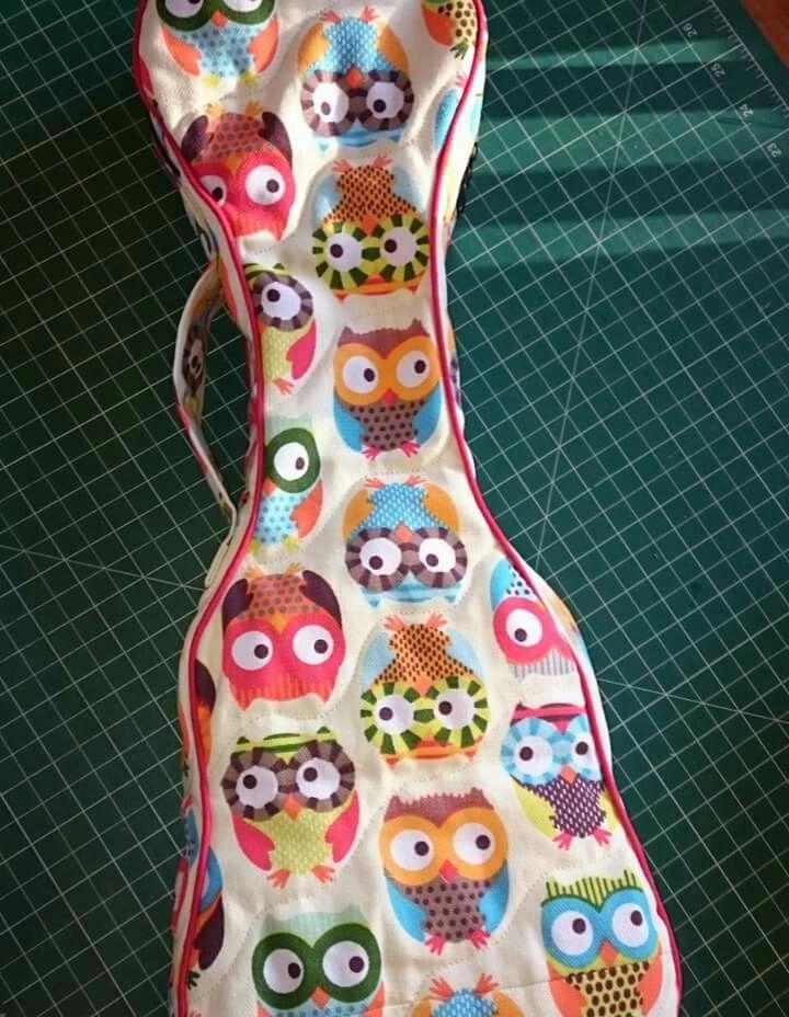 New uke bag by HandyManda