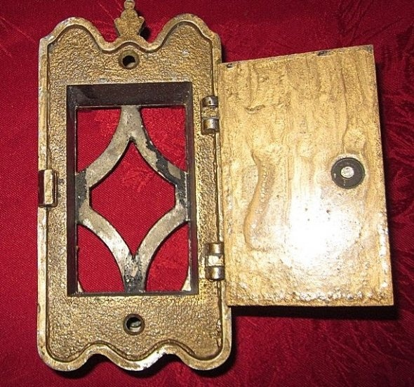 Pin by deanna haase on i have a thing for hardware pinterest - Door knocker with peep hole ...