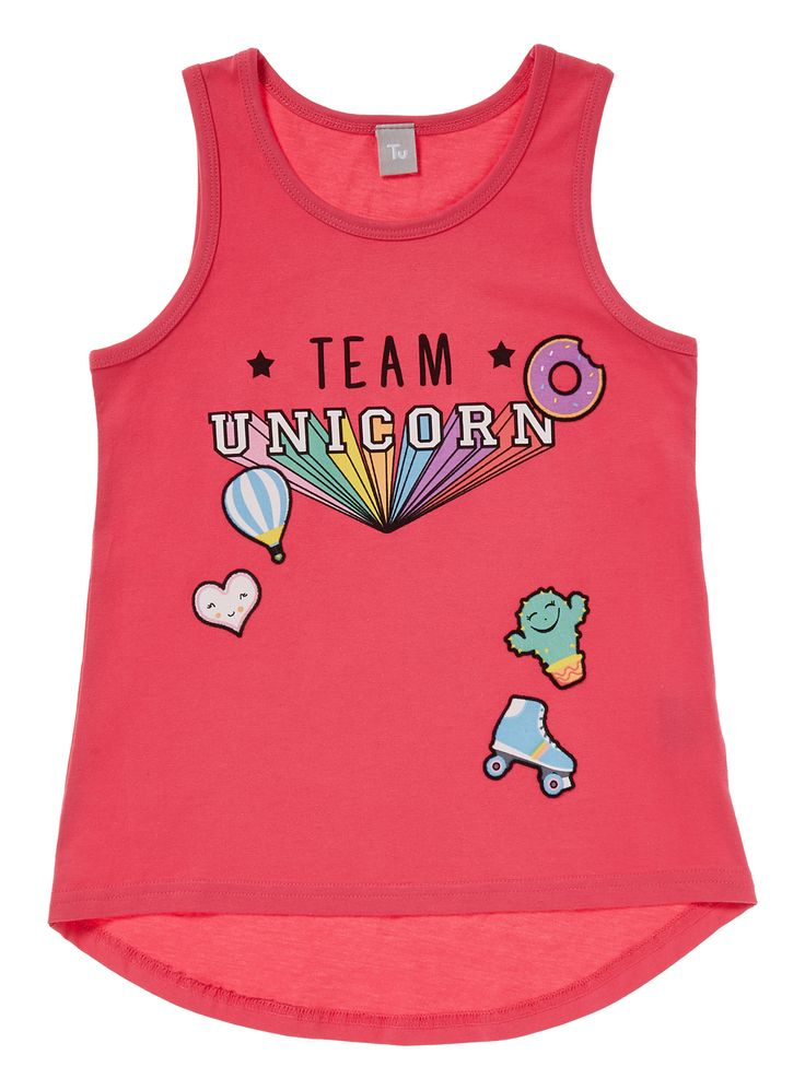 Fans of Team Unicorn will be sure to love this funky slogan printed tee, which…