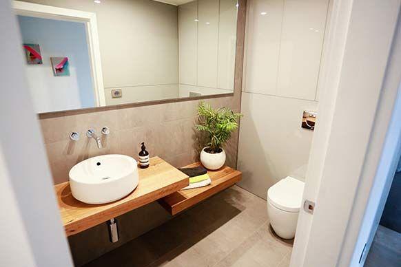 Foyer Bathroom Ideas : The block sky high room reveal madi jarrod s foyer