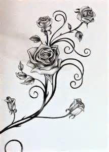 outline of a vine of roses - Yahoo Image Search Results