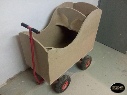 Bollerwagen, Holz, Design, Tuning