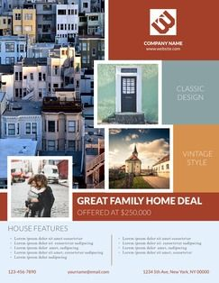 free online flyer maker easy flyer design apartment sale