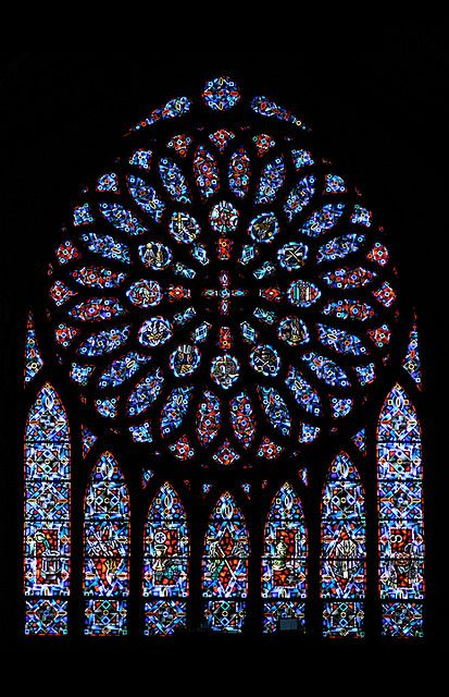 Hello Sunday:)...Stained glass window at St. Paul's Church in Princeton, NJ. JUST JAW- DROPPING