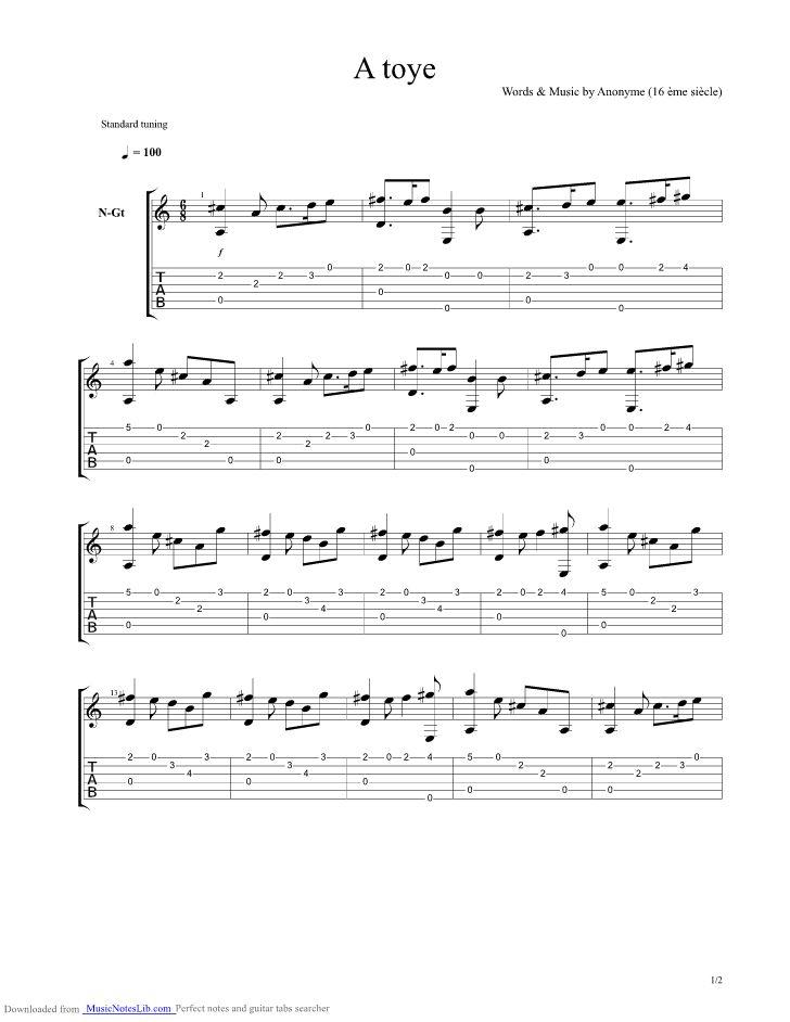 partition guitare miraculous ladybug