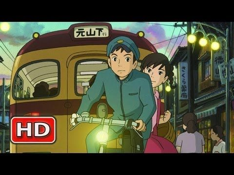 Trailer for new Studio Ghibli film, Up on Poppy Hill. I love everything from Studio Ghibli!!
