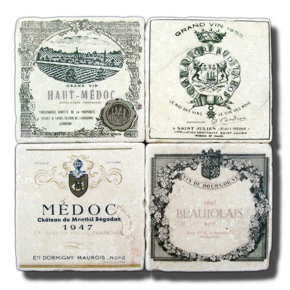 vintage french wine labelsVintage French Wine Labels