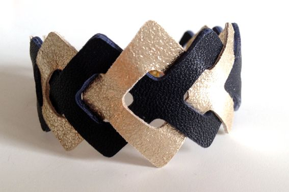 #laurencemlesbijoux #bracelet #cuir