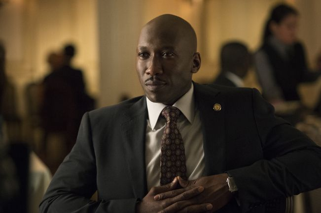 Mahershala Ali as Remy in House of Cards, season 3.