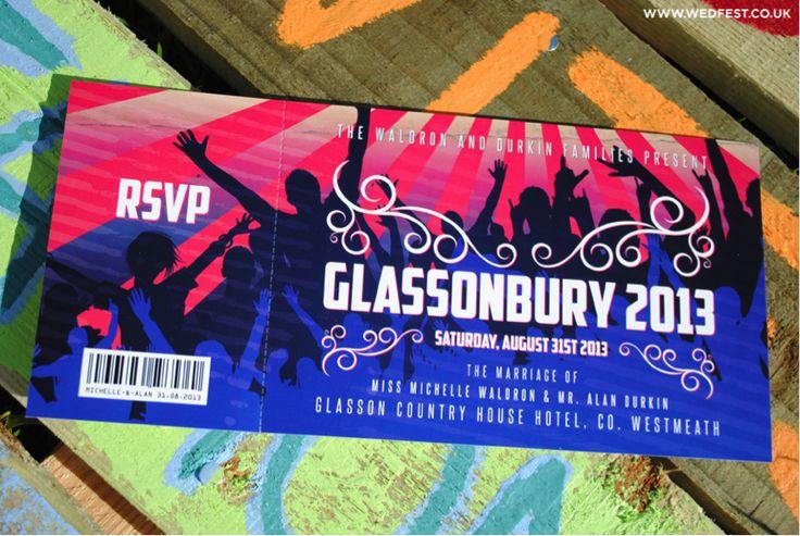 Glastonbury Ticket 2013