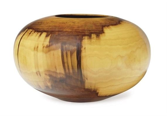 bowl edward maulthrop All hand-turned including a bulbous footed bowl of wild cherry signed by ed moulthrop, ht 8 3/4, approx dia 9 a tulipwood footed bowl signed by philip moulthrop, ht 4 1/2, approx dia 5 1/4 persimmon bowl signed moulthrop, ht 4, dia 5 1/4 in all signed with artist's monogram.