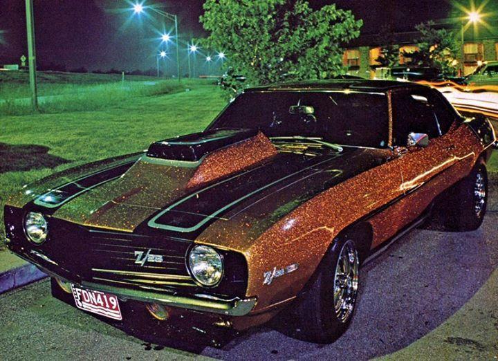 Vintage 1969 Camaro Z/28 with sweet large metal flake ...