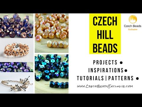 Go Up To The Hill With New Czech Glass Hill Beads! | CzechBeadsExclusive
