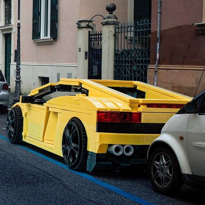Best Lego Images On Pinterest Bricks Cars And Formula - Giant lego vehicles have been appearing on the streets of ancient rome