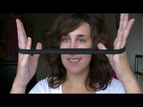 Romantische krullen met elastieken haarband (zonder hitte!)