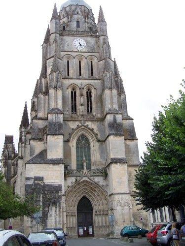 Saintes, basilique Ste Eutrope