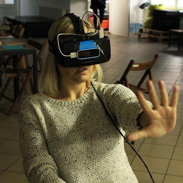 #martafrej #cieszyn #memmachina #vrez #nagranicy #oculus #leapmotion #psmove #kinect #mindhelix #virtualreality #vr