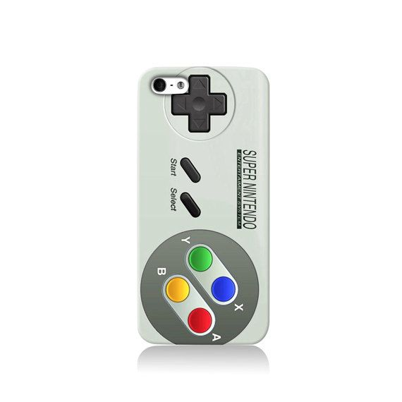 Retro SNES Controller Design iPhone case iPhone 6 by VDirectCases - I don't even have an iPhone, but I want this.