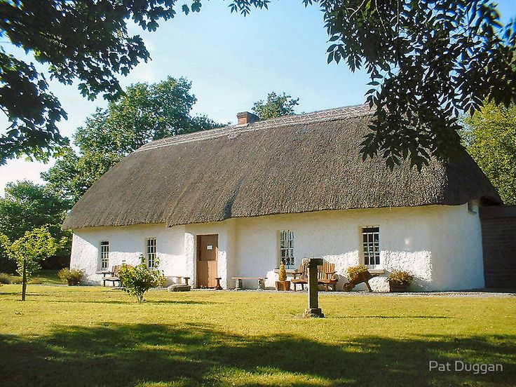 Old Irish Cottage by Pat Duggan