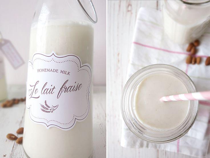 DIY Milk with oats & almonds ❤ on www.lovely-joys.de
