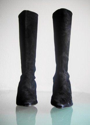 Kaufe meinen Artikel bei #Kleiderkreisel http://www.kleiderkreisel.de/damenschuhe/stiefel/148806060-peter-kaiser-stiefel-stretch-schlupfstiefel-schwarz-gr-36-37