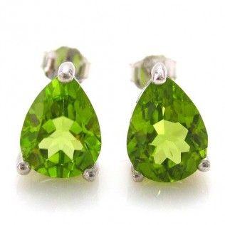 Peridot Intense 3,5 carate Cercei pietre preţioase naturale http://www.borealy.ro/bijuterii/cercei/peridot-intense-set-4-carate-cercei-cu-pietre-pretioase.html