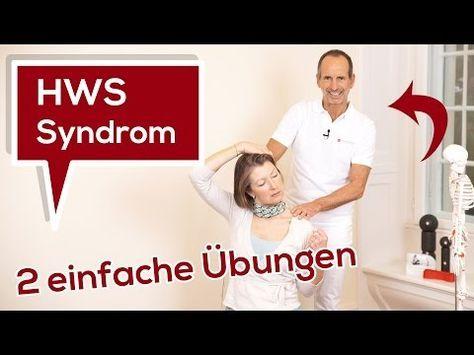 Halswirbelsäulen-Syndrom | Ursache - 2 einfache Übungen | Liebscher & Bracht - Nackenschmerzen - YouTube