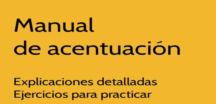 Manual de acentuación (descarga gratuita)