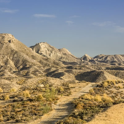 Tabernas desert landscape... a geological marvel that has been millions of year in the making