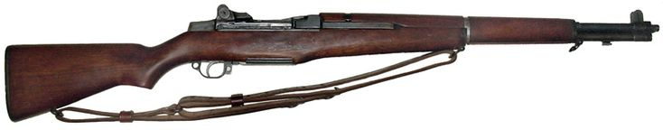 No 4. M1 GARAND – USA  Type : Semiautomatic  Caliber : 7.62 x 63 mm  Muzzle Velocity : Approximately 2,838 feet per second  Rate of Fire : 30 rounds per minute.  The M1 Grand entered the battlefield in 1941 and instantly proved to be the one of the toughest in the field. At the end of the 2nd World War, General Patton remarked that the M1 may have been the greatest battle implement ever devised. The M1 Garand was phased out in the 1960s.