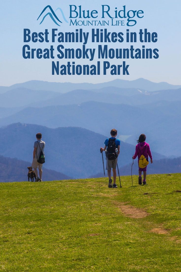 Best Family Hikes in the Great Smoky Mountains National Park via @brmountainlife
