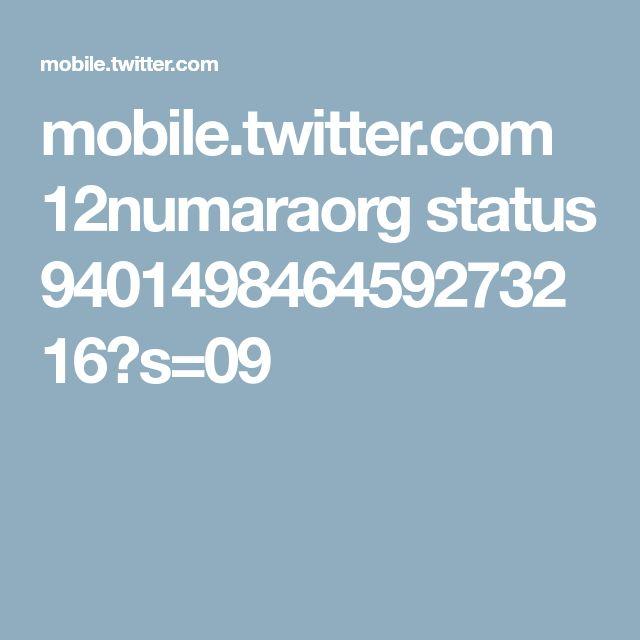 mobile.twitter.com 12numaraorg status 940149846459273216?s=09